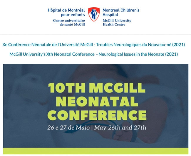 The 10th Neonatal Conference of McGill University